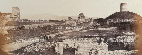 AVQ-A-000089-0011 - Photographic pictures of Rome: veduta della Via Appia Antica - Data dello scatto: 1862 - Raccolte Museali Fratelli Alinari (RMFA), Firenze
