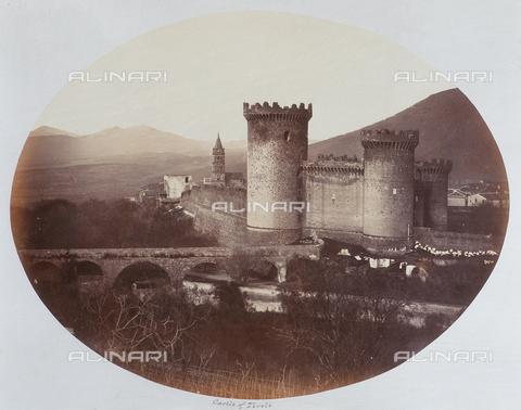 AVQ-A-000089-0023 - Photographic pictures of Rome: veduta della Rocca Pia a Tivoli - Data dello scatto: 1862 - Raccolte Museali Fratelli Alinari (RMFA), Firenze