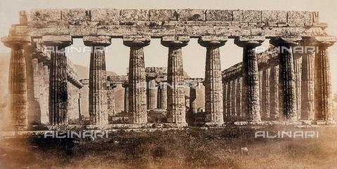 AVQ-A-000089-0048 - Photographic pictures of Rome: la Basilica di Paestum - Data dello scatto: 1862 - Raccolte Museali Fratelli Alinari (RMFA), Firenze