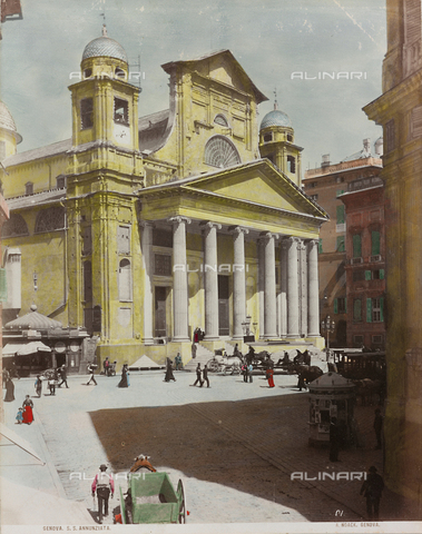 AVQ-A-000110-0074 - The Church of the Santissima Annunziata in Genoa - Data dello scatto: 1880-1890 - Archivi Alinari, Firenze