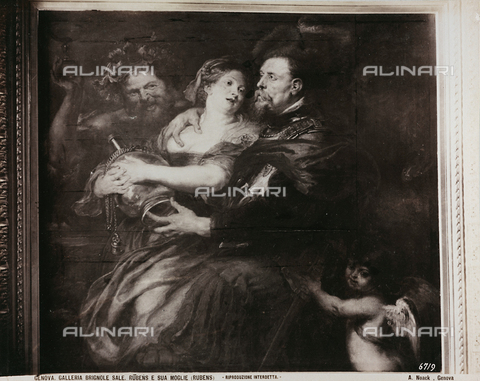 AVQ-A-000110-0099 - Venus and Mars, oil on panel, Peter Paul Rubens (1577-1640), Gallery of Palazzo Bianco, Genoa - Data dello scatto: 1880-1890 - Archivi Alinari, Firenze