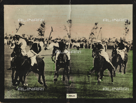 AVQ-A-000146-0102 - Polo players during a match