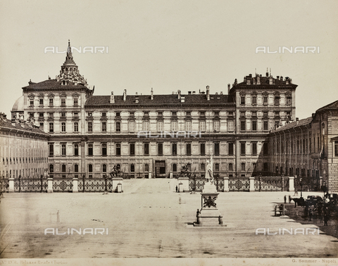 AVQ-A-000258-0004 - Royal Palace of Turin - Data dello scatto: 1870 ca. - Archivi Alinari, Firenze