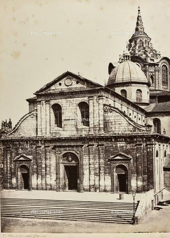 AVQ-A-000258-0011 - St. John the Baptist Cathedral (Duomo), Torino - Data dello scatto: 1870 ca. - Archivi Alinari, Firenze