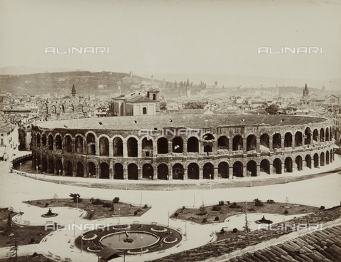 AVQ-A-000258-0047 - Arena of Verona - Data dello scatto: 1870 ca. - Archivi Alinari, Firenze
