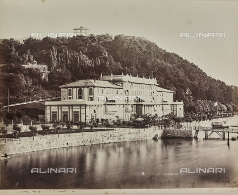 AVQ-A-000258-0050 - Bellagio Hotel Great Britain on Lake Como - Data dello scatto: 1880-1890 - Archivi Alinari, Firenze