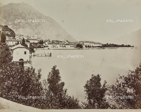 AVQ-A-000258-0052 - View of Menaggio on Lake Como - Date of photography: 1880-1890 - Fratelli Alinari Museum Collections, Florence