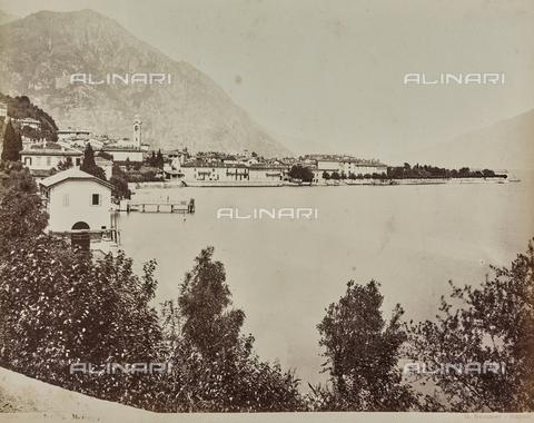 AVQ-A-000258-0052 - Veduta di Menaggio sul Lago di Como - Data dello scatto: 1880-1890 - Raccolte Museali Fratelli Alinari (RMFA), Firenze