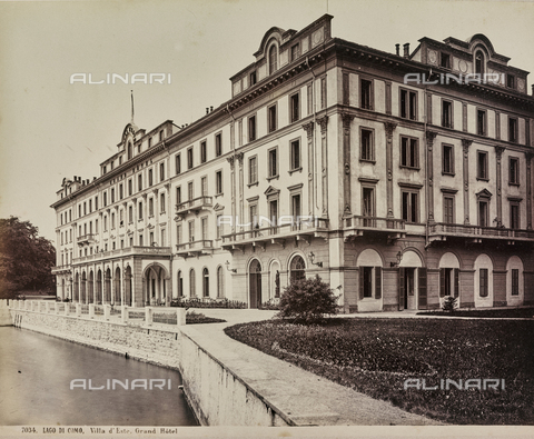 AVQ-A-000258-0054 - Villa d'Este in Cernobbio on Lake Como - Date of photography: 1880-1890 - Fratelli Alinari Museum Collections, Florence