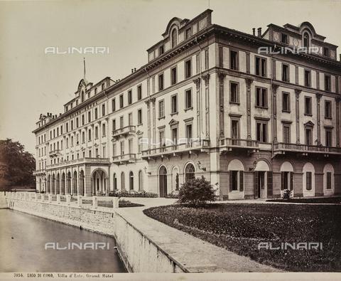 AVQ-A-000258-0054 - Villa d'Este a Cernobbio sul lago di Como - Data dello scatto: 1880-1890 - Raccolte Museali Fratelli Alinari (RMFA), Firenze