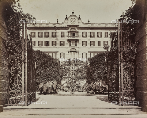 AVQ-A-000258-0055 - Villa Carlotta a Tremezzina sul lago di Como - Data dello scatto: 1880-1890 - Raccolte Museali Fratelli Alinari (RMFA), Firenze