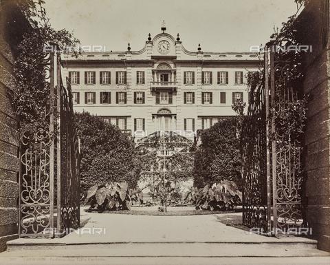 AVQ-A-000258-0055 - Villa Carlotta in Tremezzina on Lake Como - Date of photography: 1880-1890 - Fratelli Alinari Museum Collections, Florence