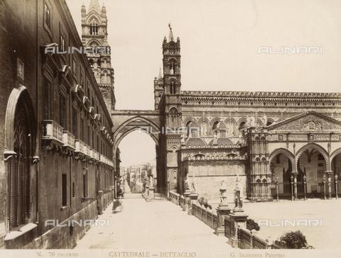 AVQ-A-000424-0073 - Cattedrale di Palermo - Data dello scatto: 1880 ca. - Raccolte Museali Fratelli Alinari (RMFA), Firenze