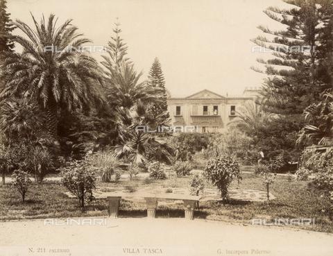 AVQ-A-000424-0075 - Villa Tasca a Palermo - Data dello scatto: 1880 ca. - Raccolte Museali Fratelli Alinari (RMFA), Firenze