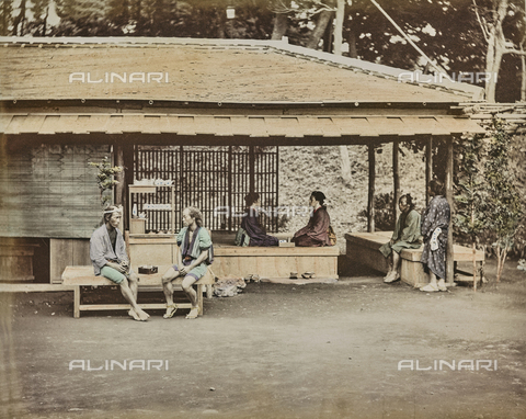 AVQ-A-000433-0039 - Japanese inn - Data dello scatto: 1868 - 1877 - Archivi Alinari, Firenze