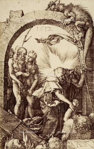 AVQ-A-000493-0018 - Incisione di Albrecht Durer raffigurante la Discesa di Cristo al Limbo - Data dello scatto: 1861 - Raccolte Museali Fratelli Alinari (RMFA), Firenze