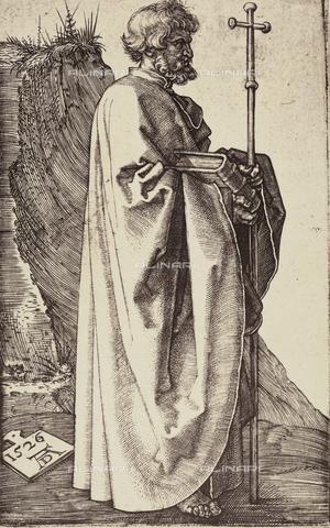 AVQ-A-000493-0048 - San Filippo, incisione di Albrecht Durer - Data dello scatto: 1861 - Raccolte Museali Fratelli Alinari (RMFA), Firenze