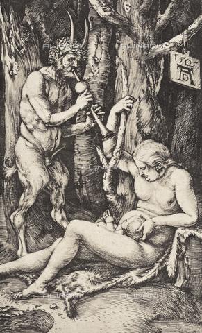 AVQ-A-000493-0071 - La famiglia del Satiro, incisione di Albrecht Durer - Data dello scatto: 1861 - Raccolte Museali Fratelli Alinari (RMFA), Firenze