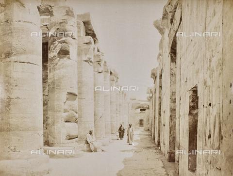 AVQ-A-000523-0057 - Tempio di Sethi, Abido, Egitto - Data dello scatto: 1880 - 1890 - Raccolte Museali Fratelli Alinari (RMFA), Firenze
