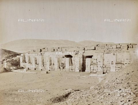 AVQ-A-000523-0058 - Tempio di Sethi, Abido, Egitto - Data dello scatto: 1880 - 1890 - Raccolte Museali Fratelli Alinari (RMFA), Firenze