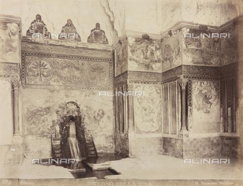 AVQ-A-000570-0027 - La Sala della Fontana nel Castello della Zisa, a Palermo - Data dello scatto: 1880-1890 - Raccolte Museali Fratelli Alinari (RMFA), Firenze