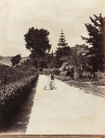 AVQ-A-000570-0042 - Vista dalla terrazza del Palazzo d'Orléans a Palermo - Data dello scatto: 1900 ca. - Raccolte Museali Fratelli Alinari (RMFA), Firenze