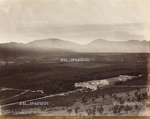 AVQ-A-000570-0047 - Veduta dei dintorni di Palermo con la fattoria Zucco - Data dello scatto: 1900 ca. - Raccolte Museali Fratelli Alinari (RMFA), Firenze