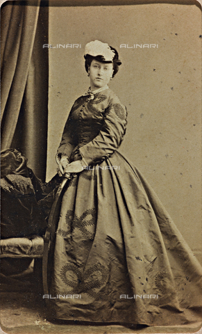 AVQ-A-000619-0001 - Portrait of Princess Helena of Saxe-Coburg-Gotha - Date of photography: 1860-70 - Fratelli Alinari Museum Collections, Florence