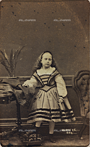 AVQ-A-000619-0010 - Portrait of Princess Beatrice of Saxe-Coburg-Gotha - Date of photography: 26/04/1864 - Fratelli Alinari Museum Collections, Florence