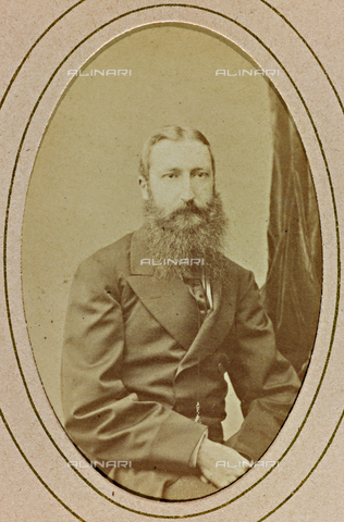 AVQ-A-000619-0012 - Portrait of Leopoldo II King of Belgium - Date of photography: 1865-70 - Fratelli Alinari Museum Collections, Florence