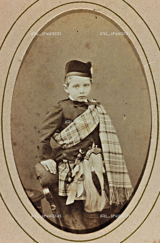 AVQ-A-000619-0019 - Portrait of Prince William II of Prussia and Germany - Date of photography: 1865-70 - Fratelli Alinari Museum Collections, Florence