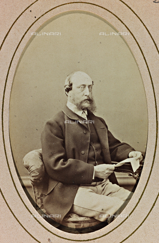 AVQ-A-000619-0021 - Portrait of Prince Frederick Christian Charles Augustus of Schleswig-Holstein - Date of photography: 1870 ca. - Fratelli Alinari Museum Collections, Florence
