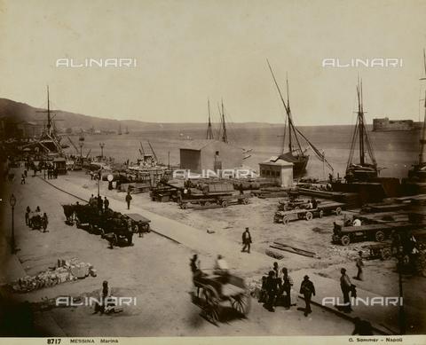 AVQ-A-000927-0002 - Seafront of Messina - Data dello scatto: 1892-1893 - Gabba Raccolta Acquisto / Archivi Alinari, Firenze