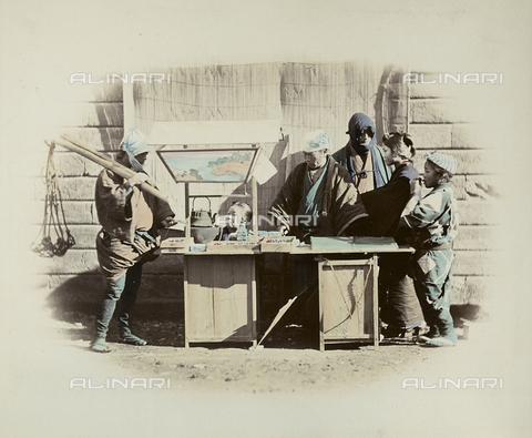 AVQ-A-000994-0002 - Japanese stand - Data dello scatto: 1863-1877 - Archivi Alinari, Firenze