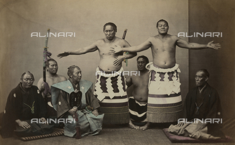 AVQ-A-000994-0006 - Japanese ceremony - Data dello scatto: 1863-1877 - Archivi Alinari, Firenze