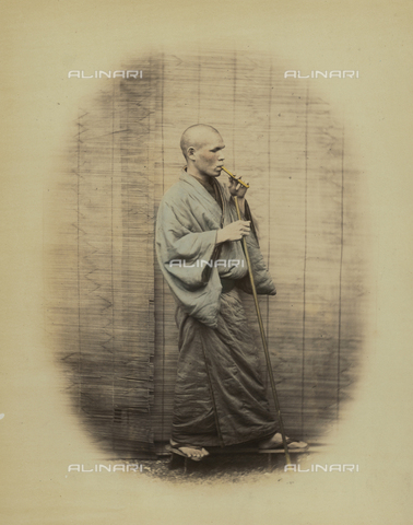 AVQ-A-000994-0009 - Japanese youth - Data dello scatto: 1863-1877 - Archivi Alinari, Firenze