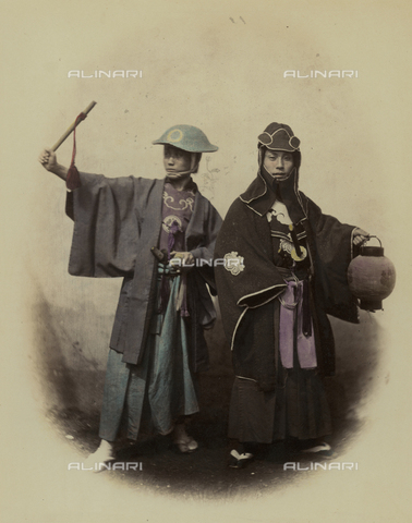 AVQ-A-000994-0015 - Officials of the Japanese Guard - Data dello scatto: 1863-1877 - Archivi Alinari, Firenze