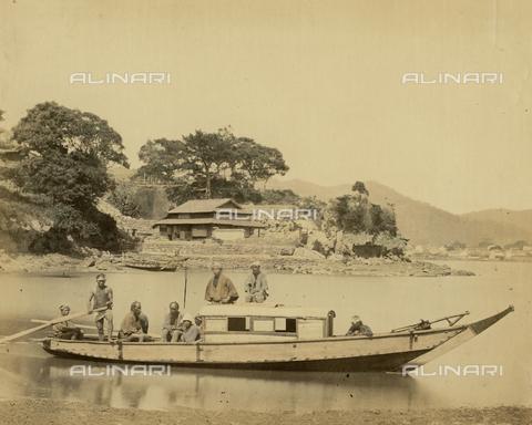 AVQ-A-000994-0022 - Japanese boat - Data dello scatto: 1863-1877 - Archivi Alinari, Firenze