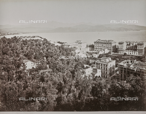 "AVQ-A-001038-0083 - Album ""Gênes et ses environs octobre 1891 - 1307"": Panorama of La Spezia. Date 1307 refers to the Rumi calendar (calendar used since 1839 by the Ottoman Empire and the Turkish Republic until 1926) - Data dello scatto: 10/1891 - Archivi Alinari, Firenze"