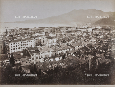 "AVQ-A-001038-0084 - Album ""Gênes et ses environs octobre 1891 - 1307"": panorama of La Spezia. Date 1307 refers to the Rumi calendar (calendar used since 1839 by the Ottoman Empire and the Turkish Republic until 1926) - Data dello scatto: 10/1891 - Archivi Alinari, Firenze"