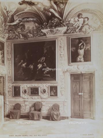 AVQ-A-001084-0007 - Hall of Summer in Palazzo Brignole Sale, Genoa. - Data dello scatto: 1880 ca. - Archivi Alinari, Firenze