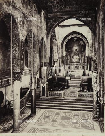 AVQ-A-001100-0051 - Interno della Cappella Palatina in Palazzo dei Normanni a Palermo - Data dello scatto: 1904 ca. - Raccolte Museali Fratelli Alinari (RMFA), Firenze