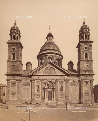 AVQ-A-001185-0021 - Basilica di Santa Maria Assunta in Carignano, Genova - Data dello scatto: 1870-1880 - Raccolte Museali Fratelli Alinari (RMFA), Firenze