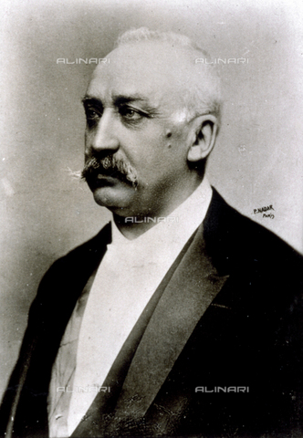 AVQ-A-001391-0006 - Half-length portrait of the politician François Félix Faure, President of the French Republic from 1895 to 1899 - Data dello scatto: 1889-1899 - Archivi Alinari, Firenze