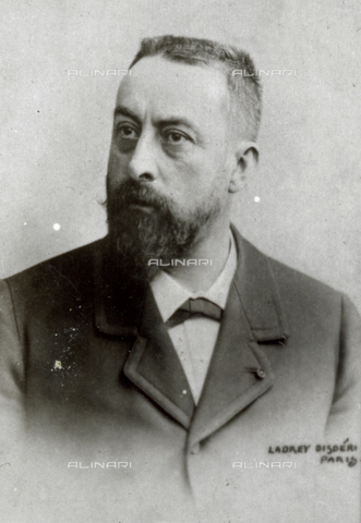 AVQ-A-001391-0125 - Half-length portrait of the French politician Nicolas Rambaud - Data dello scatto: 1885-1890 ca. - Archivi Alinari, Firenze