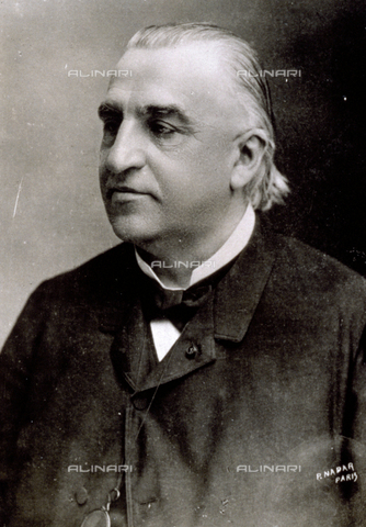 AVQ-A-001391-0220 - Half-length portrait of the famous French neurologist Jean Martin Charcot - Data dello scatto: 1880-1890 ca. - Archivi Alinari, Firenze