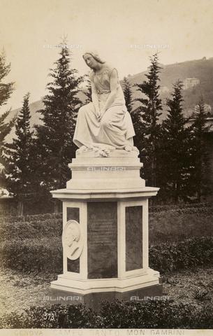 AVQ-A-001547-0035 - Monumento Gambini, Federico Fabiani (1835-1914), Cimitero Monumentale di Staglieno, Genova - Data dello scatto: 1880 ca. - Raccolte Museali Fratelli Alinari (RMFA), Firenze