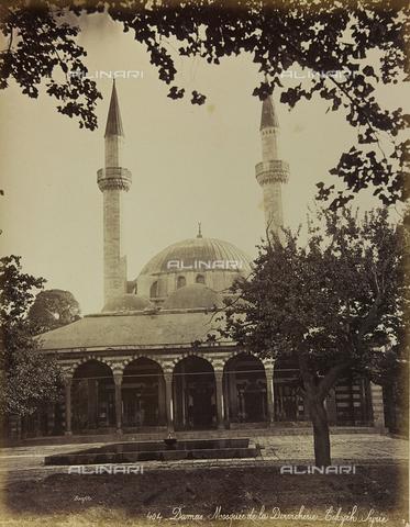 """AVQ-A-001581-0011 - Album """" Damas et Baalbek """": Mosque of Damascus - Data dello scatto: 1880 ca. - Archivi Alinari, Firenze"""