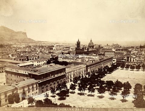 AVQ-A-001860-0001 - Panorama of Palermo - Data dello scatto: 1880 ca - Archivi Alinari, Firenze