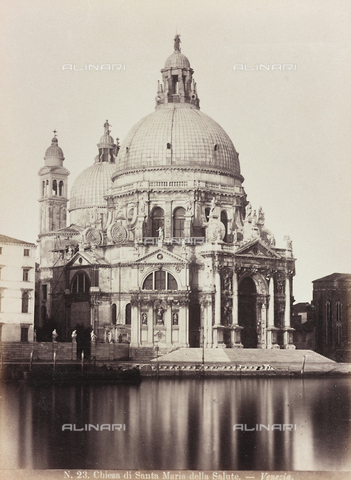 AVQ-A-002026-0018 - The Church of Santa Maria della Salute, Venice - Data dello scatto: 1870-1880 - Archivi Alinari, Firenze